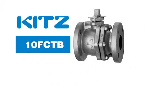 Kitz 10FCTB Cast Iron Ball Valve