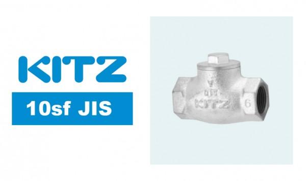 Kitz 10sf JIS 10K Lift Check Valve Ductile Iron