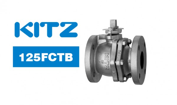 Kitz 125FCTB Cast Iron Ball Valve (Full Port)