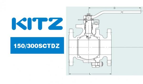 Kitz 150/300sctdz Stainless Steel/Carbon Steel Ball Valves