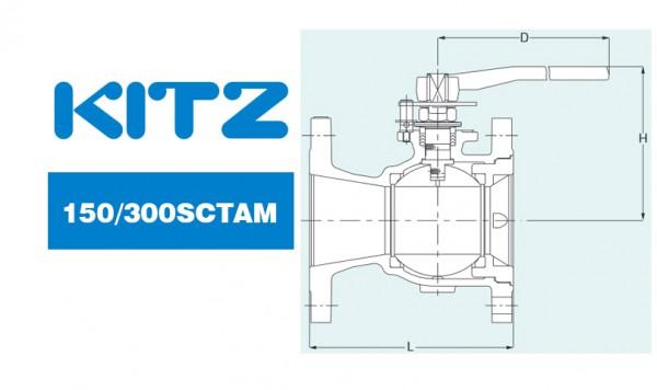 Kitz 150/300sctam Stainless Steel/Carbon Steel Ball Valves