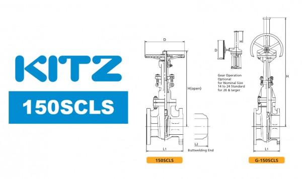 Kitz 150SCLS Cast Carbon Steel Gate Valve