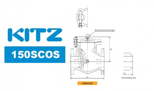 Kitz 150SCOS Cast Carbon Steel Check Valve