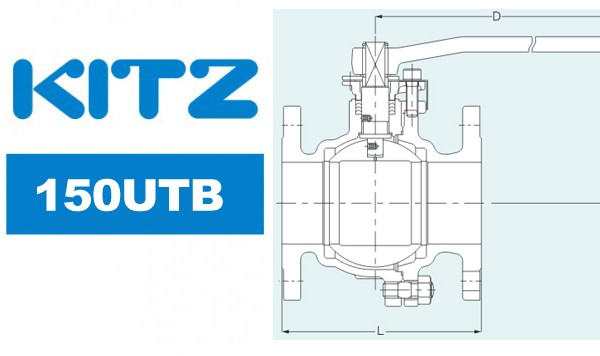 Kitz 150UTB Ball Valve Stainless Steel