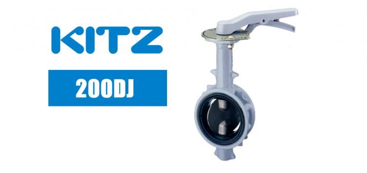 Kitz DJ Series 200DJ Butterfly Valve