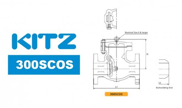 Kitz 300SCOS Cast Carbon Steel Check Valve