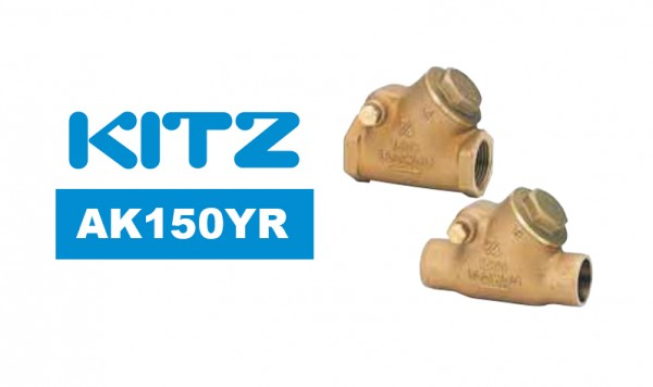 Kitz AK150YR Bronze Y-Pattern Swing Check Valve