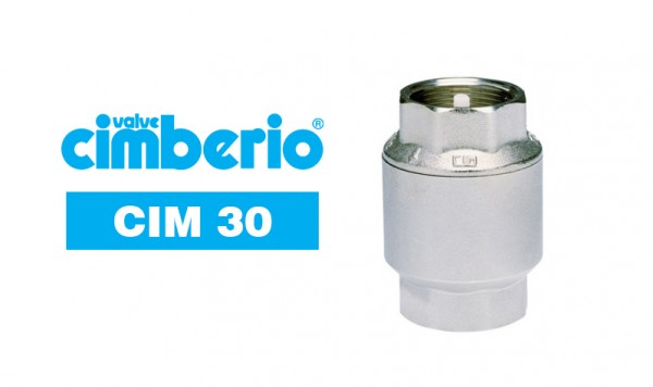 Cim 30 Sprint Spring-loaded Check Valve