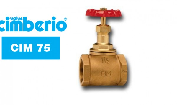 Cim 75 Bronze Globe Valve Metal To Metal Seating