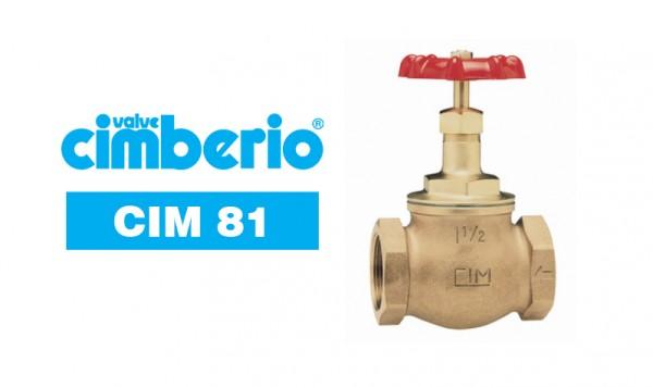 Cim 81 Bronze Globe Valve P.T.F.E. Disc – Standard Type