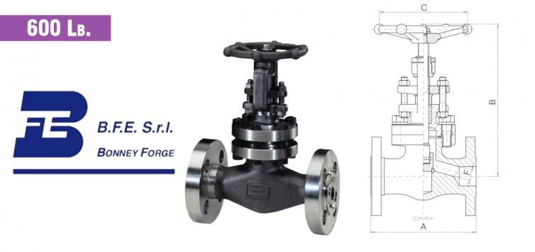 Globe Type- Bolted Bonnet- 600 lb. valves