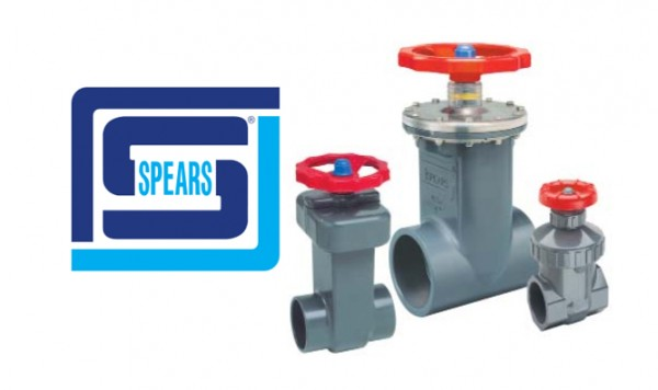 Spears PVC and CPVC Gate Valves