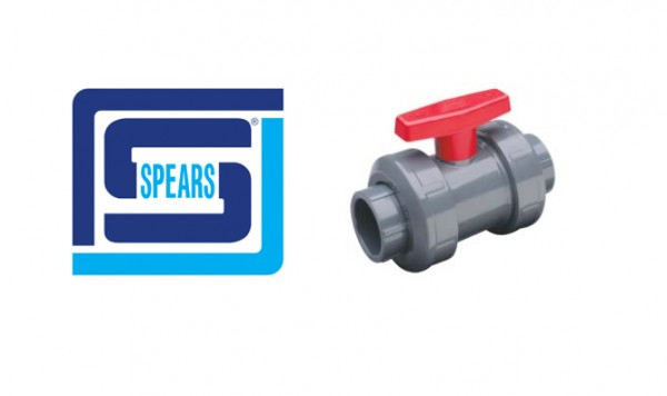 Spears PVC and CPVC Industrial Ball Valves
