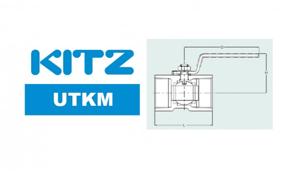 Kitz UTKM Ball Valve Stainless Steel