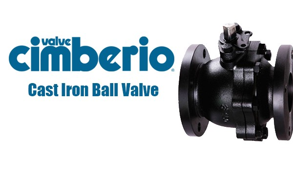 Cim Cast Iron Ball Valve