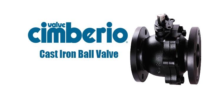 Cim Cast Iron Ball Valve