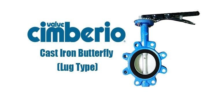 Cim Cast Iron Butterfly (Lug Type)