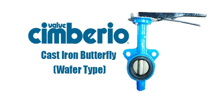 Cim Cast Iron Butterfly (Wafer Type)
