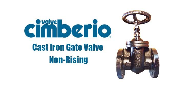 Cim Cast Iron Gate Valve Non-Rising