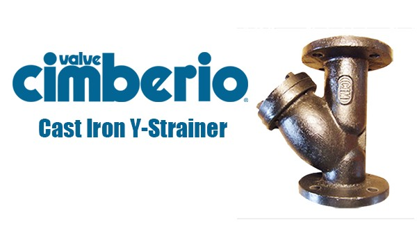 Cim Cast Iron Y-Strainer