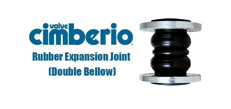 Cim Rubber Expansion Joint (Double Bellow)