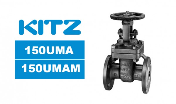 Kitz 150UMA/150UMAM Stainless Steel Gate Valves