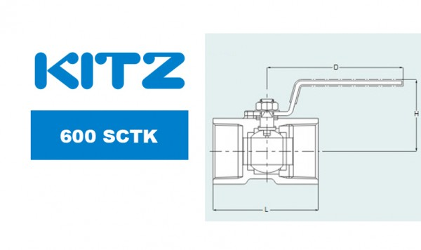 Kitz 600SCTK Carbon Steel Ball Valves