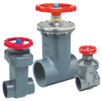 Spears Pvc And Cpvc Gate Valves Tyval Industrial Supply