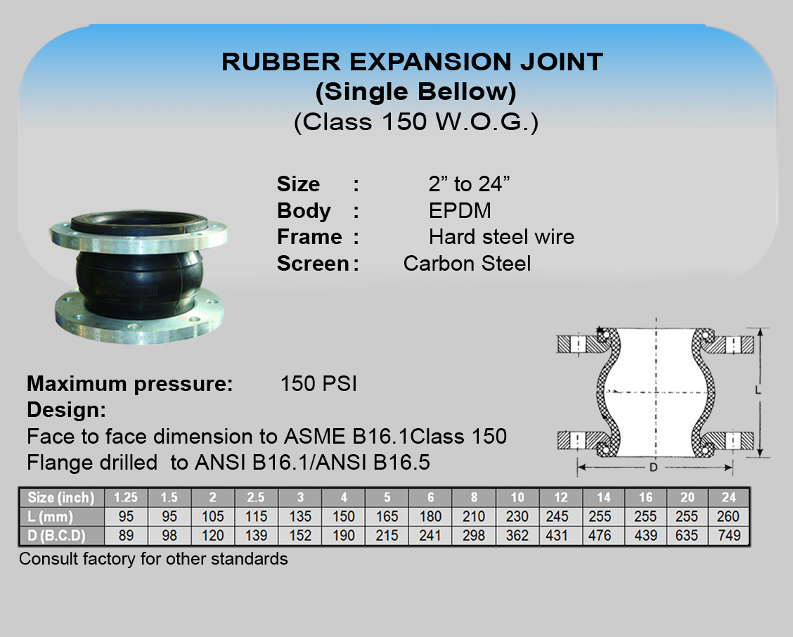 07 Cim Rubber Expansion Joint (Single Bellow)